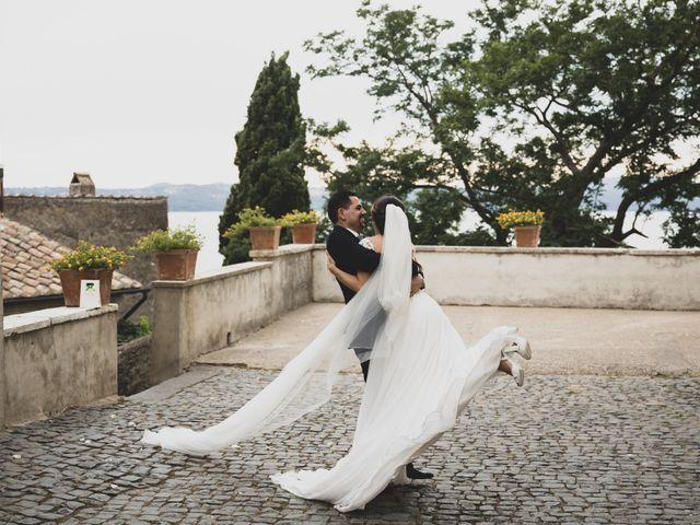 Il matrimonio di Davide e Viviana a Anguillara Sabazia, Roma 64