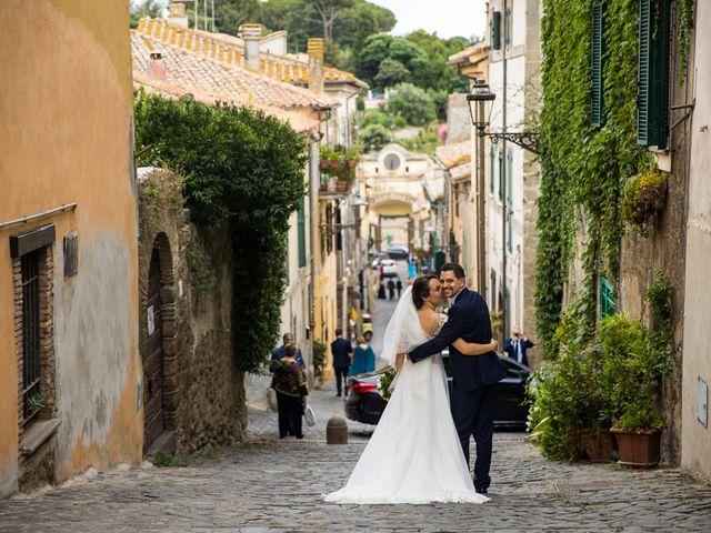 Il matrimonio di Davide e Viviana a Anguillara Sabazia, Roma 67