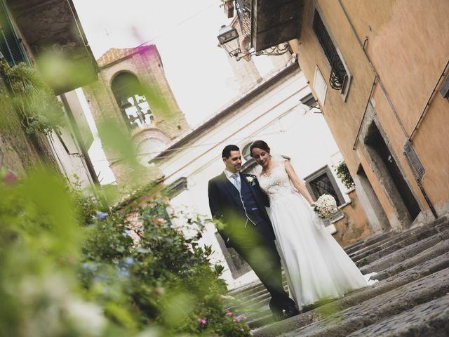 Il matrimonio di Davide e Viviana a Anguillara Sabazia, Roma 68