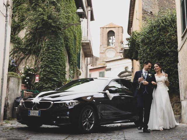 Il matrimonio di Davide e Viviana a Anguillara Sabazia, Roma 69