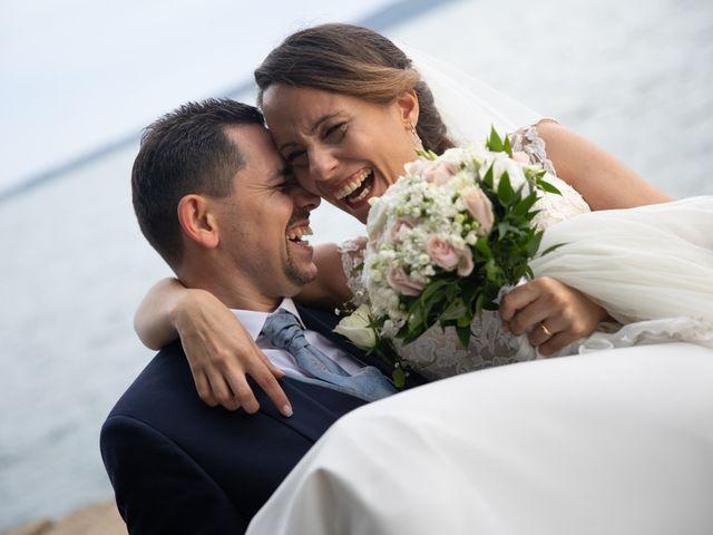 Il matrimonio di Davide e Viviana a Anguillara Sabazia, Roma 74