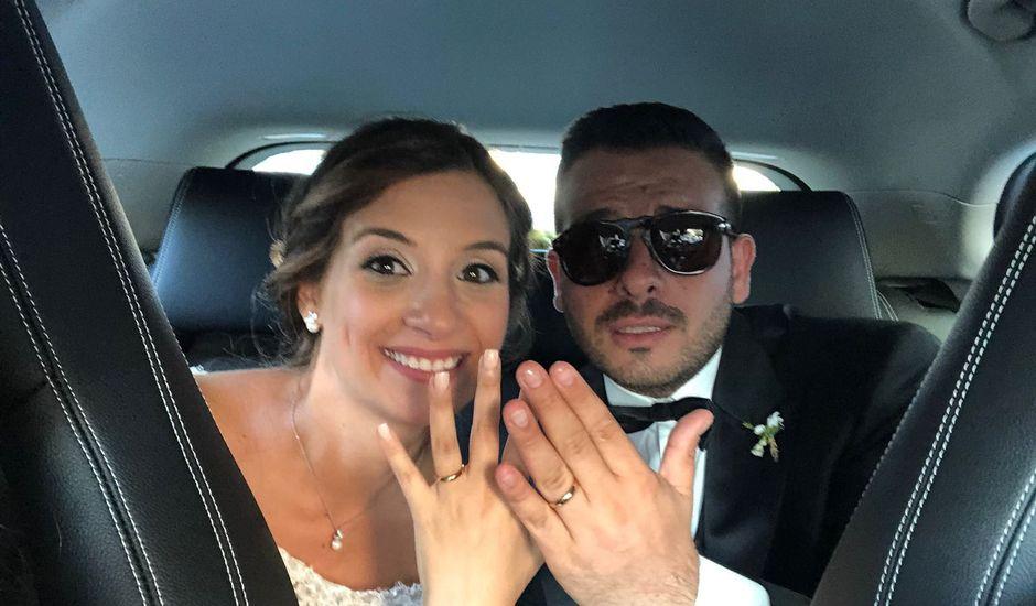 Il matrimonio di Ciro e Francesca a Lettere, Napoli