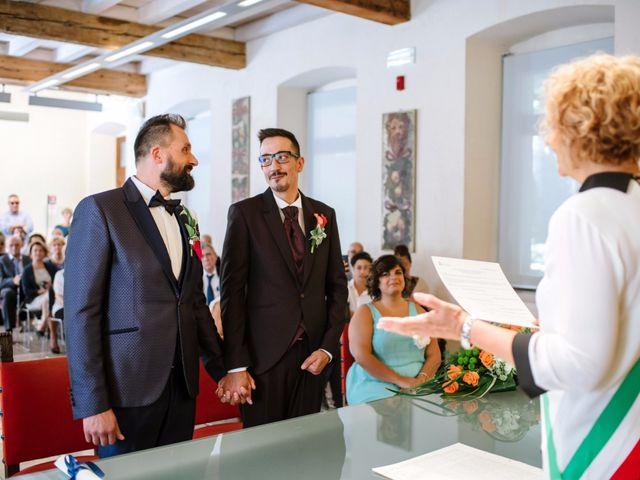 Il matrimonio di Rudy e Leonardo a San Martino Buon Albergo, Verona 3