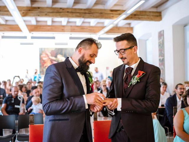 Il matrimonio di Rudy e Leonardo a San Martino Buon Albergo, Verona 10