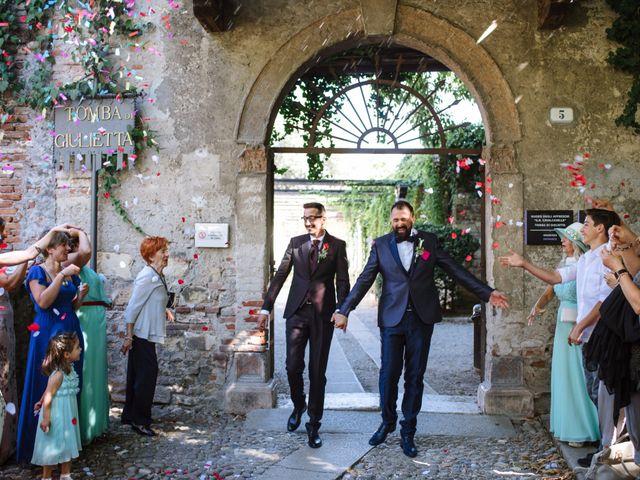 Il matrimonio di Rudy e Leonardo a San Martino Buon Albergo, Verona 14