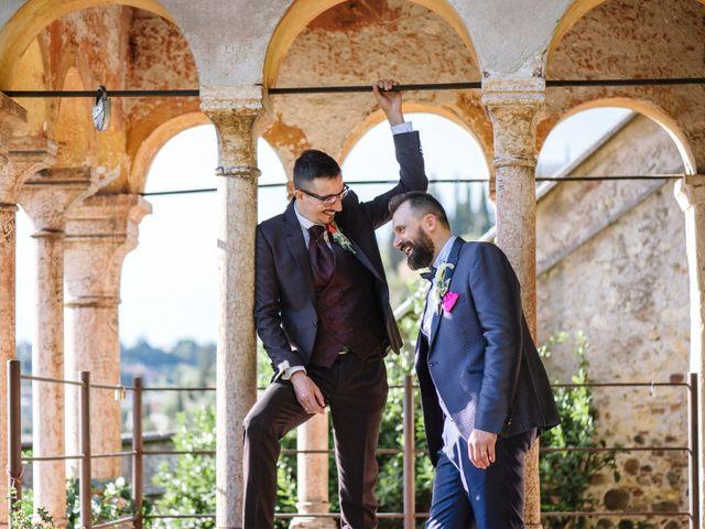 Il matrimonio di Rudy e Leonardo a San Martino Buon Albergo, Verona 26