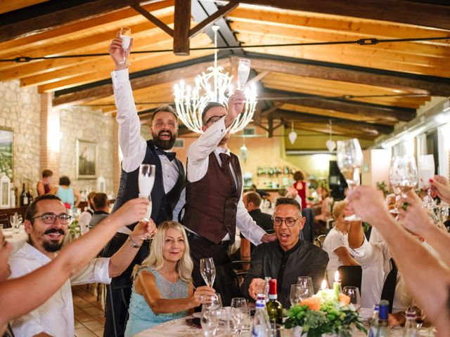 Il matrimonio di Rudy e Leonardo a San Martino Buon Albergo, Verona 40