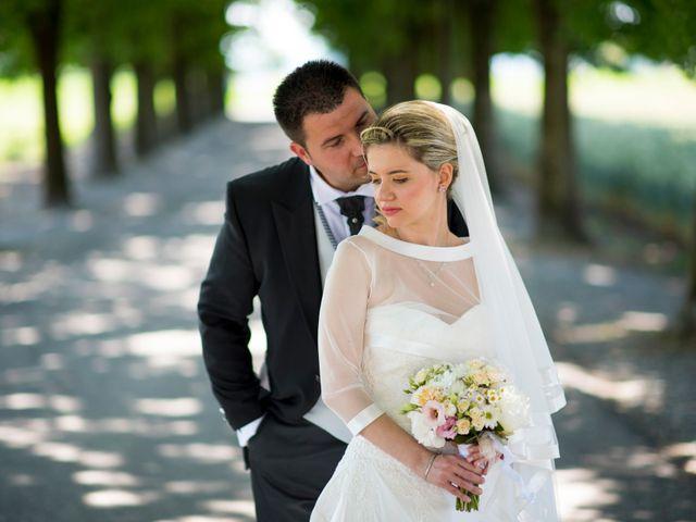 le nozze di Marialuisa e Ivan