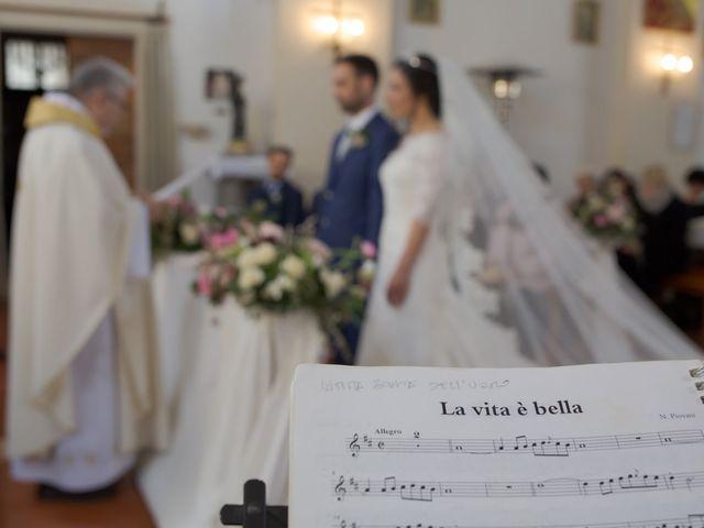 Il matrimonio di Chiara e Massimo a Fiumicino, Roma 48