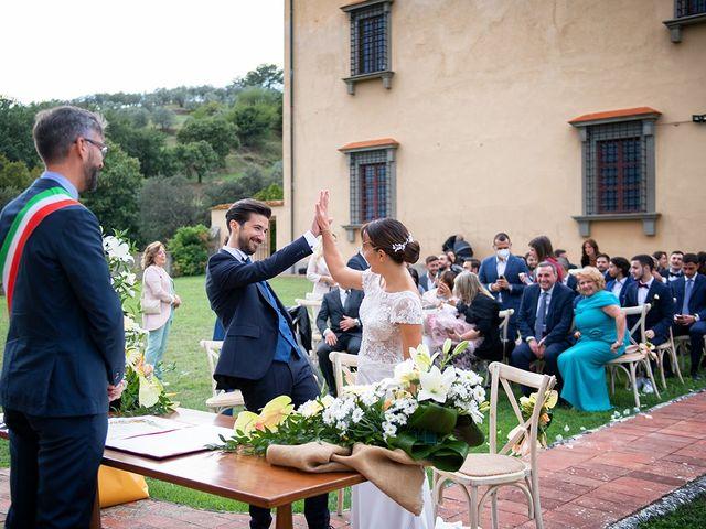 Il matrimonio di Alessio e Stefania a Poggio a Caiano, Prato 12