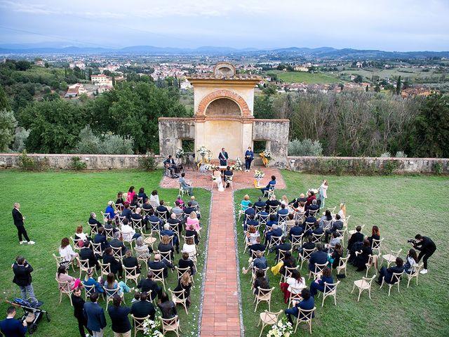 Il matrimonio di Alessio e Stefania a Poggio a Caiano, Prato 1