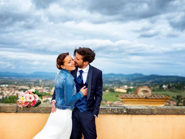 Il matrimonio di Alessio e Stefania a Poggio a Caiano, Prato 22