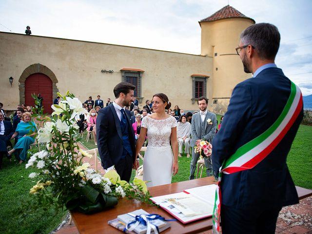 Il matrimonio di Alessio e Stefania a Poggio a Caiano, Prato 13