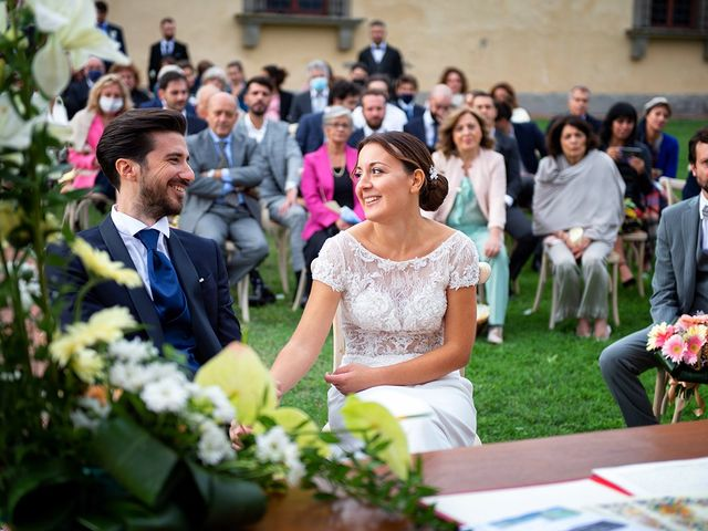 Il matrimonio di Alessio e Stefania a Poggio a Caiano, Prato 14