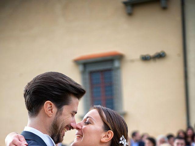 Il matrimonio di Alessio e Stefania a Poggio a Caiano, Prato 18