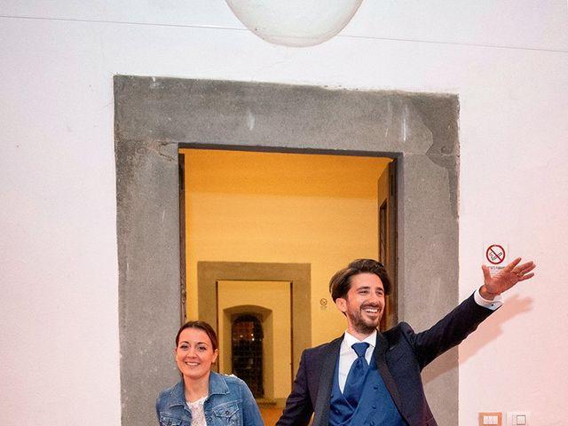 Il matrimonio di Alessio e Stefania a Poggio a Caiano, Prato 39