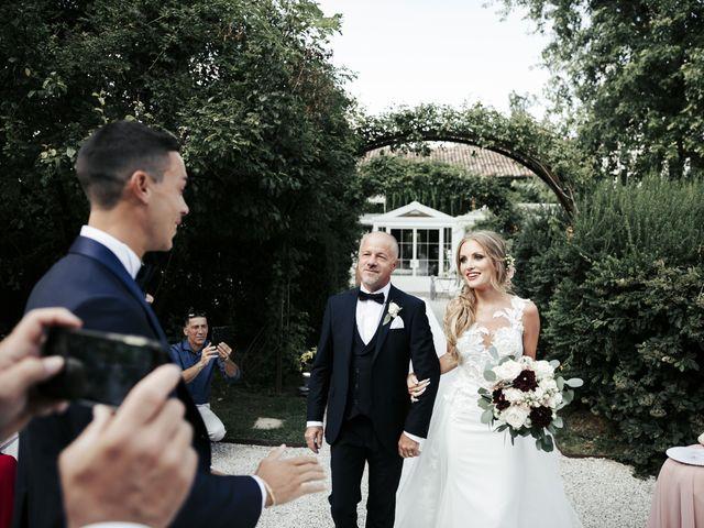 Il matrimonio di Lorenzo e Pamela a Gorgo al Monticano, Treviso 12