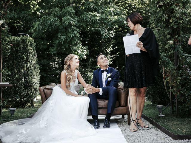 Il matrimonio di Lorenzo e Pamela a Gorgo al Monticano, Treviso 13