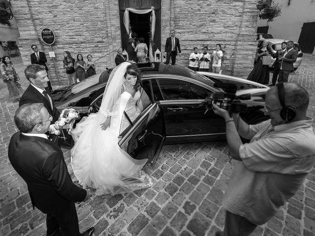 Il matrimonio di Alessandro e Concetta a Mergo, Ancona 8