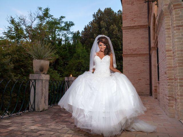 Il matrimonio di Alessandro e Concetta a Mergo, Ancona 18