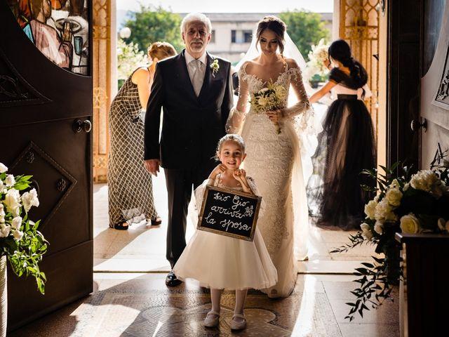 Il matrimonio di Giovanni e Ausilia a Villa San Giovanni, Reggio Calabria 31
