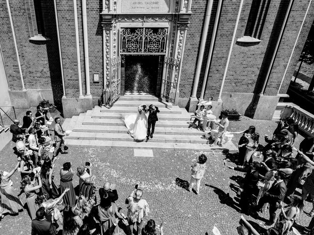 Il matrimonio di Fabrizio e Maria a Trofarello, Torino 28