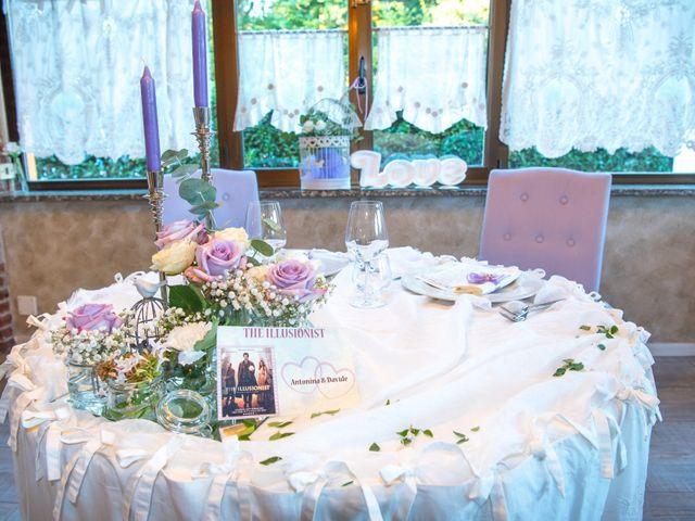 Il matrimonio di Davide e Antonina a Meda, Monza e Brianza 48