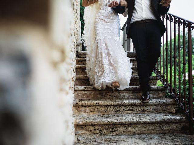 Il matrimonio di Valerio e Valentina a Fumone, Frosinone 27