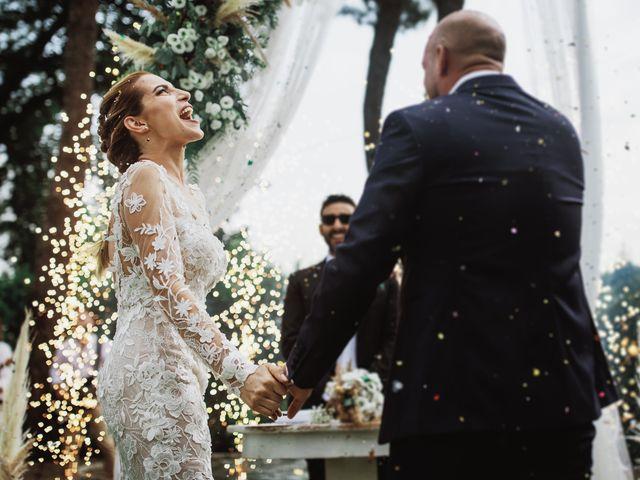 Il matrimonio di Valerio e Valentina a Fumone, Frosinone 30