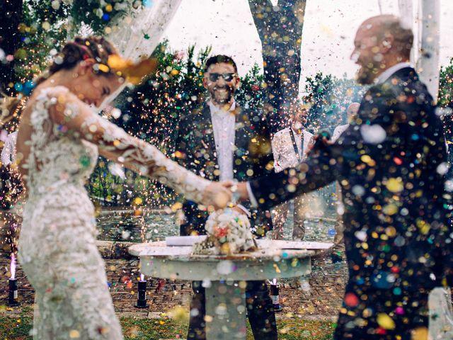 Il matrimonio di Valerio e Valentina a Fumone, Frosinone 32