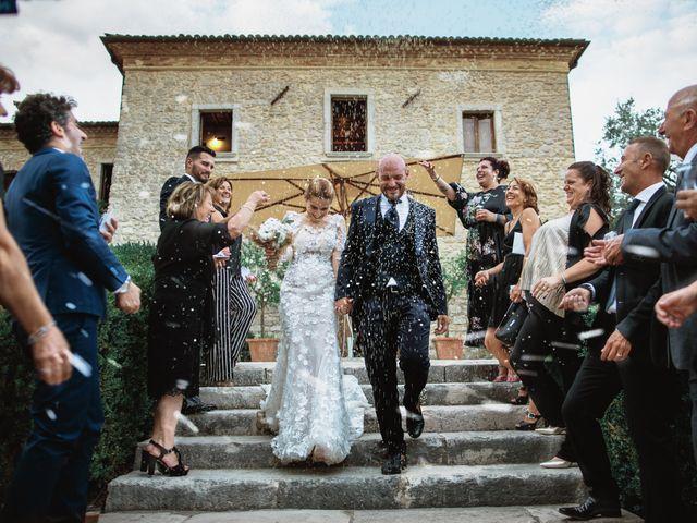 Il matrimonio di Valerio e Valentina a Fumone, Frosinone 33