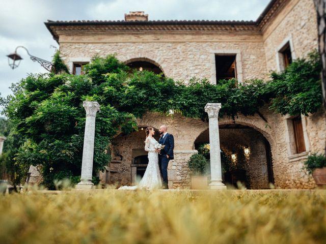 Il matrimonio di Valerio e Valentina a Fumone, Frosinone 34
