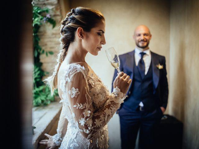 Il matrimonio di Valerio e Valentina a Fumone, Frosinone 35