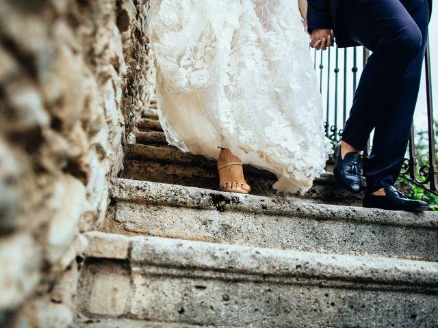 Il matrimonio di Valerio e Valentina a Fumone, Frosinone 36