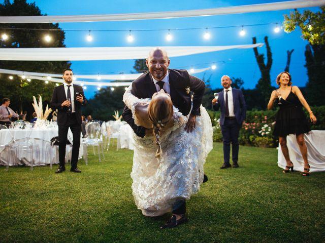 Il matrimonio di Valerio e Valentina a Fumone, Frosinone 44