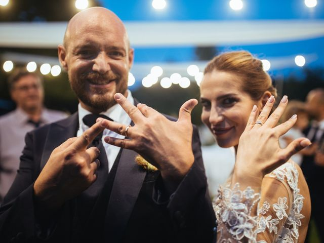 Il matrimonio di Valerio e Valentina a Fumone, Frosinone 45