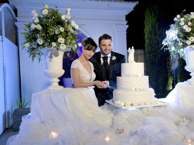 le nozze di Cecilia e Salvatore