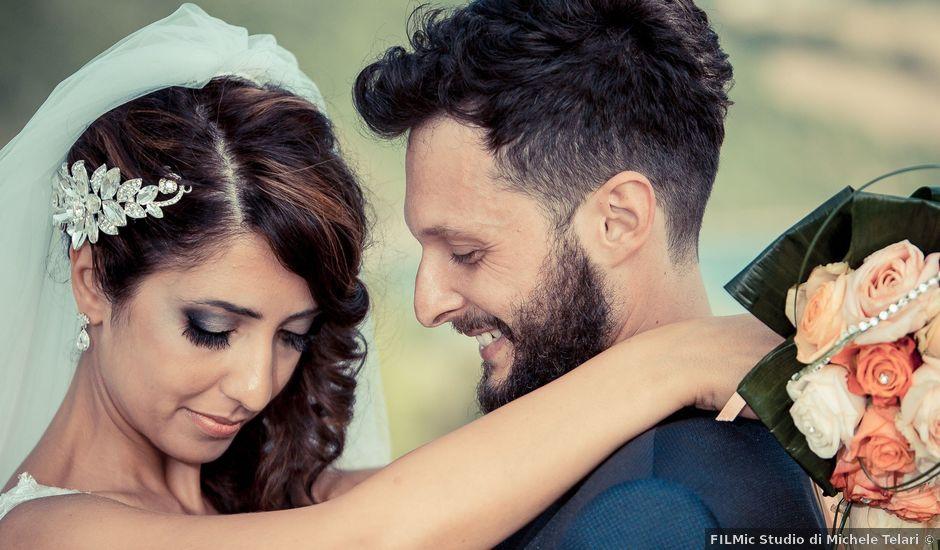 Il matrimonio di Alessandro e Concetta a Mergo, Ancona