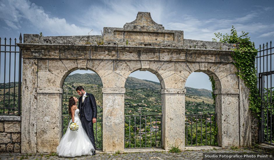 Il matrimonio di Piero e Jessica a Anagni, Frosinone