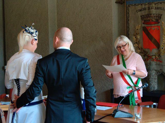Il matrimonio di Stefano e Alice a Albavilla, Como 2