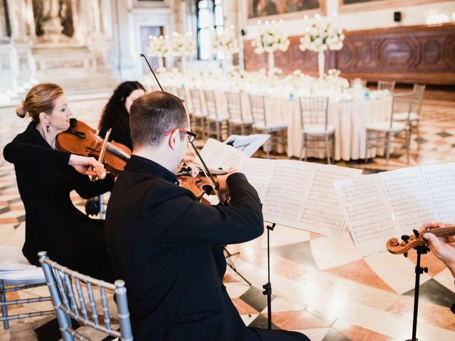 Il matrimonio di Jacopo e Leslie a Venezia, Venezia 50