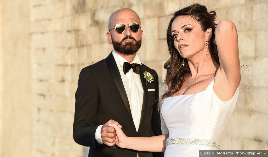 Il matrimonio di Carlo e Francesca a Trani, Bari