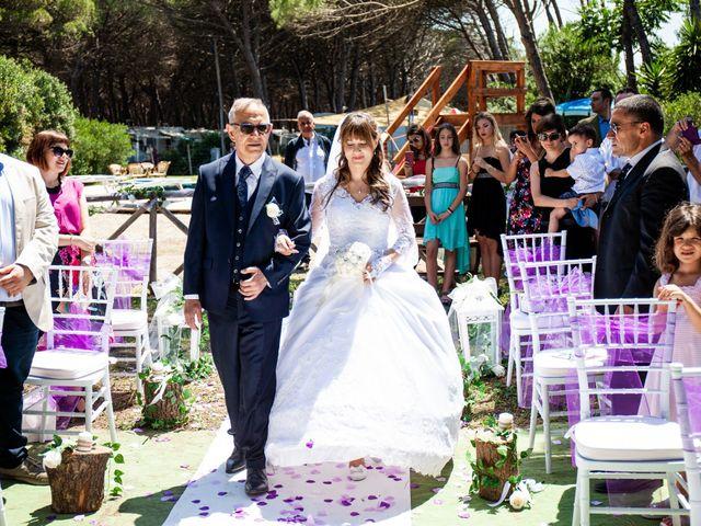 Il matrimonio di Marco e Tatiana a Montalto di Castro, Viterbo 17