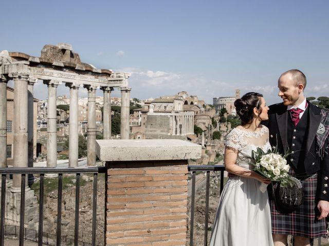 Il matrimonio di Craig e Melissa a Roma, Roma 7