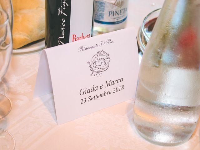 Il matrimonio di Marco e Giada a Giussago, Pavia 160