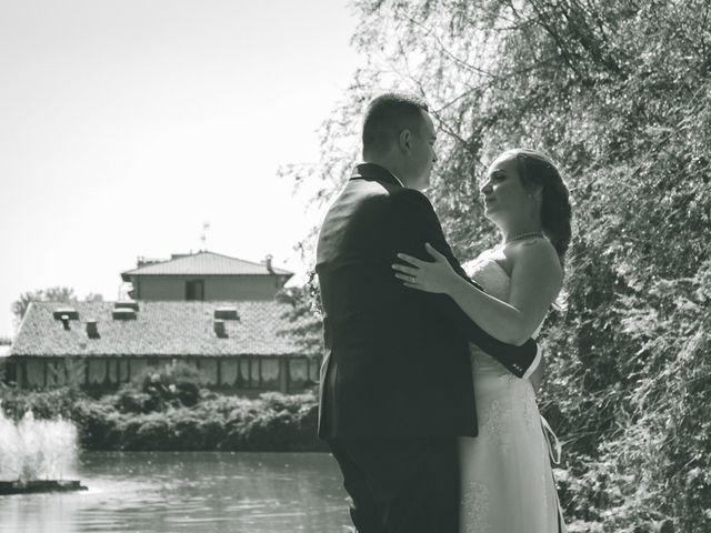 Il matrimonio di Marco e Giada a Giussago, Pavia 201