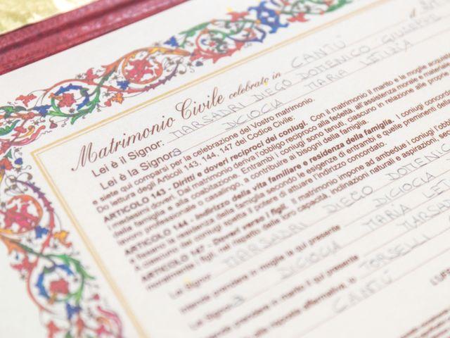 Il matrimonio di Diego e Letizia a Cantù, Como 20