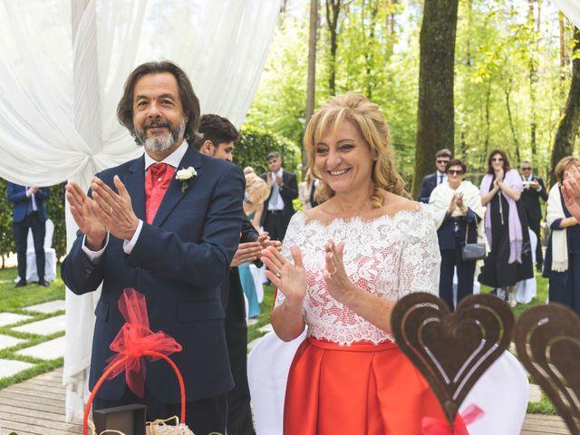 Il matrimonio di Diego e Letizia a Cantù, Como 43