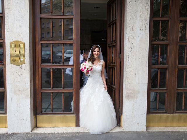 Il matrimonio di Valerio e Laura a Bracciano, Roma 30