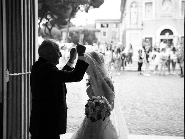 Il matrimonio di Valerio e Laura a Bracciano, Roma 37